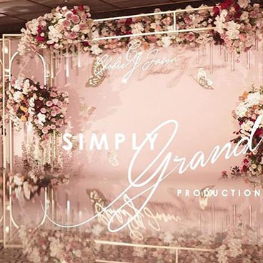Wedding Decoration Rosewood by Simply Grand